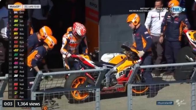 Selama Paruh Pertama MotoGP 2019, Johann Zarco Sukses Puncaki Daftar Pembalap Sering Crash