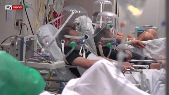 Di Italia, Pasien Corona Usia di Atas 60 Tahun Direlakan Meninggal karena RS Kekurangan Ventilator