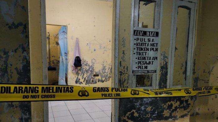 Kondisi rumah Syahril Alamsyah alias Abu Rara (31), menentang penikaman terhadap Wiranto Kampung Sawah, Kecamatan Menes, Kabupaten Pandeglang, Provinsi Banten, Kamis (10/10/2019).
