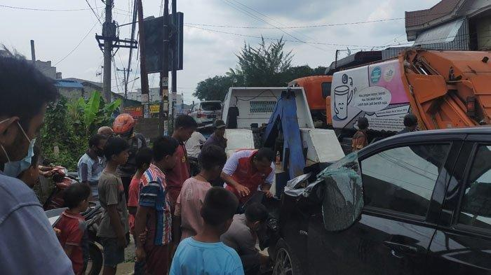 Diduga Anggota TNI Mengantuk Saat Mengemudi, Jadi Penyebab Tabrakan Beruntun di Medan