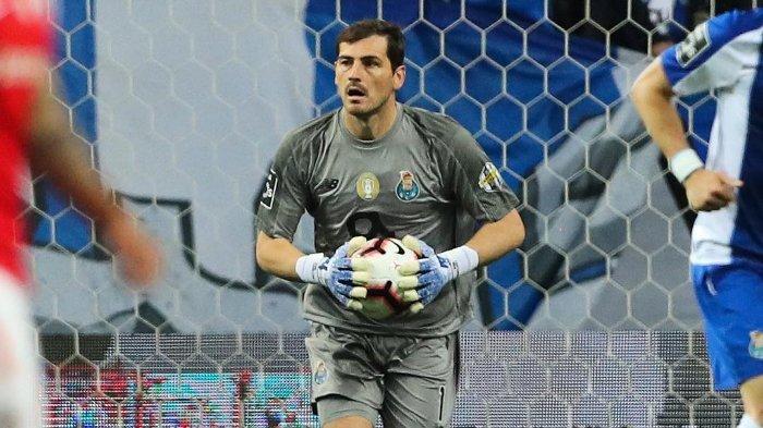 Kondisi Terkini Iker Casillas Setelah Alami Serangan Jantung saat Sesi Latihan