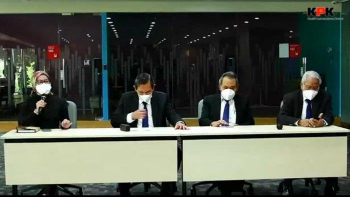 Konferensi Pers Dewan Pengawas Komisi Pemberantasan Korupsi (KPK)