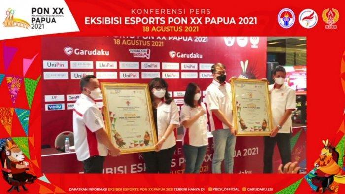 Esport Resmi Dipertandingkan Secara Eksibisi di PON XX Papua 2020