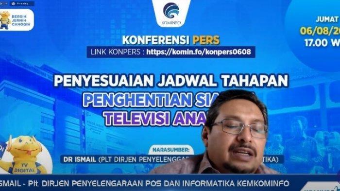 Penjelasan Kemkominfo Soal Penundaan Proses Migrasi Siaran TV Digital