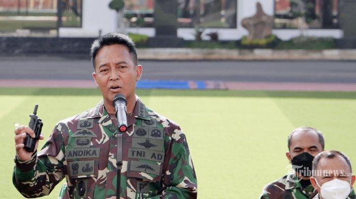 Kariernya Melesat sejak Jokowi Jadi Presiden, KSAD Andika Perkasa Disebut Calon Kuat Panglima TNI