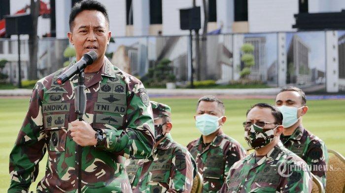 KSAD Minta Kesdam Kawal Vaksinasi Covid-19 Tahap 2 Untuk Prajurit TNI AD