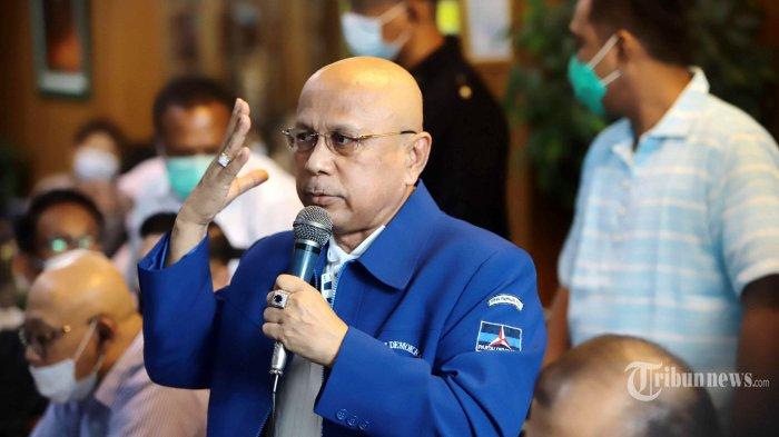 Darmizal Sebut Orang Dekat yang Menjerumuskan SBY Mendaftarkan Merek Partai Demokrat