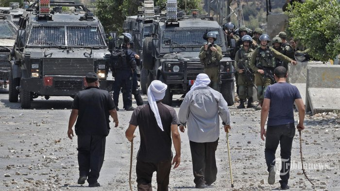 Tentara Israel Tembak Warga Palestina di Tepi Barat, 4 Orang Tewas
