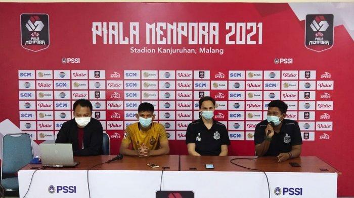 HASIL PIALA MENPORA 2021: Bhayangkara Solo FC Tersingkir, Munster Singgung 2 Gol Persija Jakarta