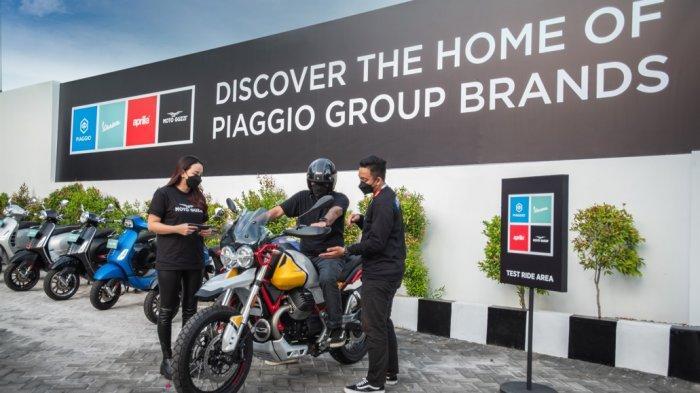 Konsep Motoplex mengadopsi desain Italia
