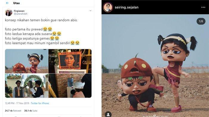 VIRAL di Twitter Konsep Pernikahan Unik dan 'Aneh', Mempelai Pria Beri Klarifikasi
