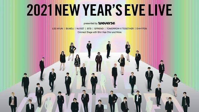 Konser Big Hit Label New Year's Eve 2021 Akan Tampilkan ...