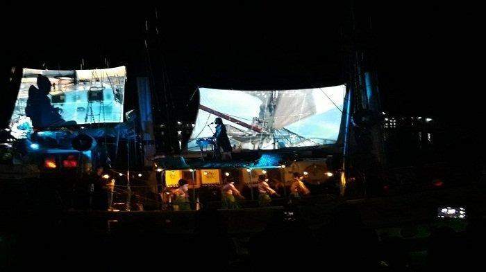 Awak Kapal Layar Arka Kinari Persembahkan 'Konser Jalur Rempah', Digelar Meriah di Teluk Banda Neira