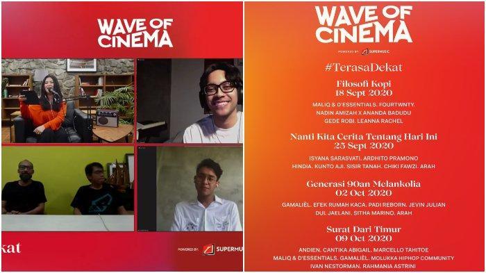 Hadirkan 'Wave of Cinema', 30 Musisi Ini akan Hibur Penonton Melalui Konser Virtual Bak Nonton Film