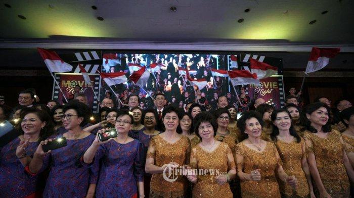 Konser Para Lansia Movie Night Show Jakarta.