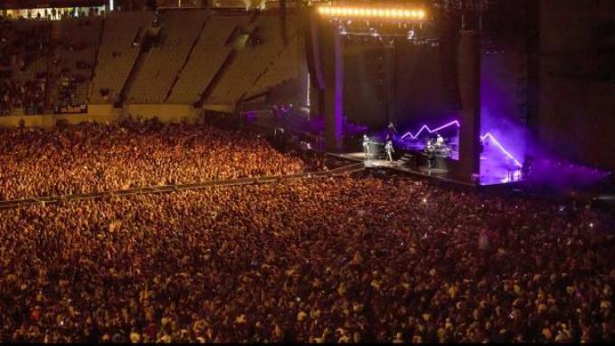 Negara Lain Masih Dilanda Covid-19, Selandia Baru Sudah Gelar Konser Musik Dihadiri 50.000 Penonton
