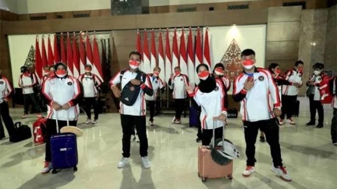 Chief de Mission Kontingen Indonesia Terus Ingatkan Atlet Jangan Khawatir Berlebihan Jaga Prokes