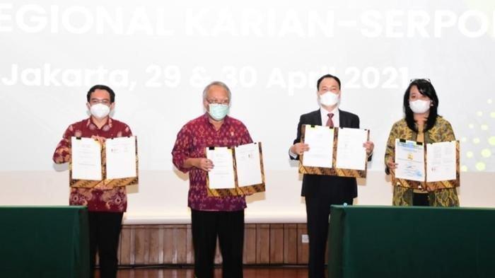 Tambah Pasokan Air Minum, Kementerian PUPR Bersinergi Percepat Proyek SPAM Regional Karian-Serpong