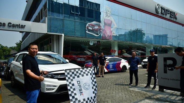 DFSK Rayakan Kemerdekaan RI Lewat Konvoi Bareng ke Sukabumi