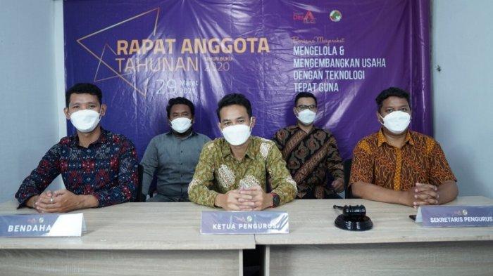 Koperasi Senyum Desa Nusantara Gelar Rapat Anggota Tahunan Tahun Buku 2020