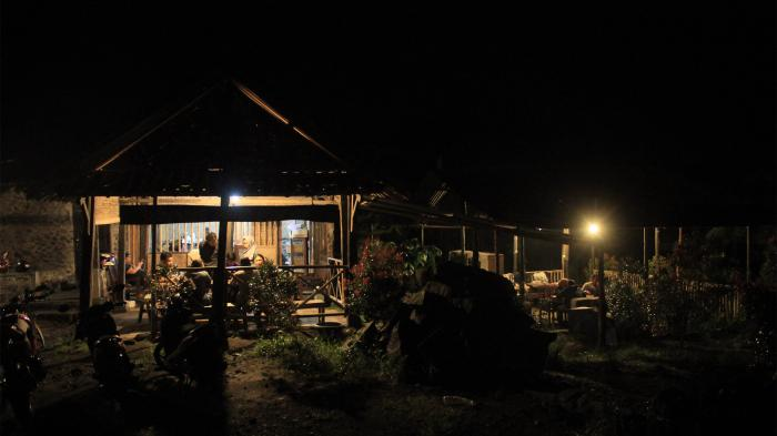 Warung Kopi Merapi, Tempat Ngopi yang Lagi Hits, Lokasinya Hanya Berjarak 7 Km dari Puncak Merapi