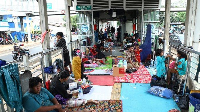 Cerita Pegawai Transjakarta ketika Jakarta Dikepung Banjir