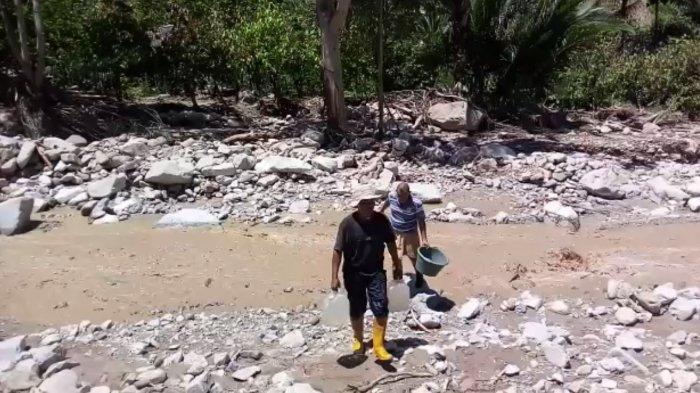 Mencekam, Banjir Bandang Terjang Sigi, 2 Orang yang Lagi Tidur Jadi Korban, Lihat Foto dan Videonya