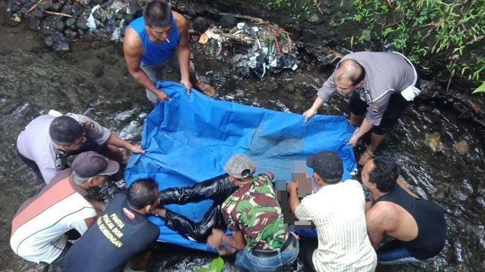 Sunarto Ditemukan Tewas di Sungai Desa Sidorejo Blitar, Diduga Korban Kecelakaan Tunggal