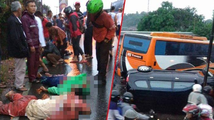 Buntut Tabrakan Beruntun di Puncak, Polisi Masih Data Korban Tewas