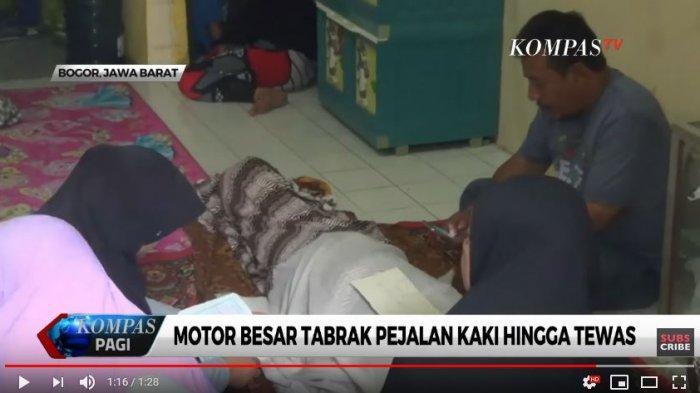 Korban Siti Aisah (52) tewas ditabrak Harley Davidson. Suami korban ikhlas dan akan mencabut laporan kepolisian.
