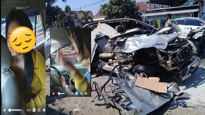 Korban tewas laka Innova vs Bus Mira di Nganjuk sempat ambil video sebelum kecelakaan