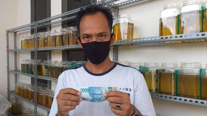 Pedagang Ikan Cupang dan Manisan Jadi Korban Peredaran Uang Palsu di Palembang