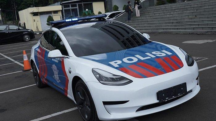 Korlantas Terima Hibah Mobil Listrik Dari IMI untuk Patroli Lalu Lintas, Bisa Tempuh Jarak 400 KM