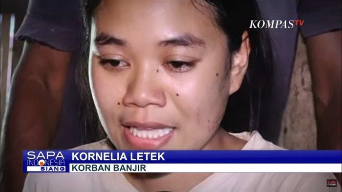 Kornelia Letek, salah seorang korban selamat Banjir Bandang NTT