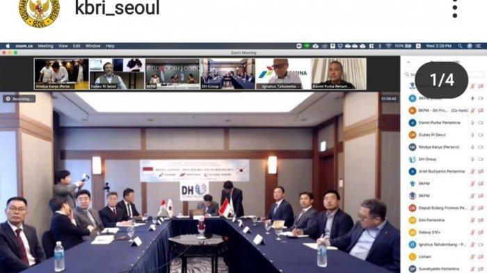 Indonesia-Korea Selatan Tandatangani MoU Proyek RDMP Unit Pengolahan II Dumai