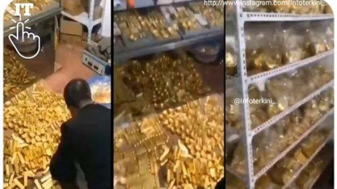 Pencuri Terkaya Sedunia, Polisi Kaget karena Temukan 13 Ton Emas dan Uang 0,5 T di Ruang Rahasia