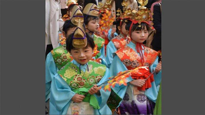 Setelah Jepang Tanpa Festival, Akhirnya Keceriaan Anak-anak Muncul di Hiraizumi-cho Iwate