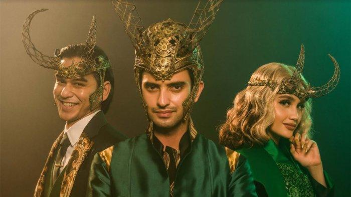 Omar Daniel, Cinta Laura dan Rangga Azof Tampil dengan Kostum Khas Karakter Loki