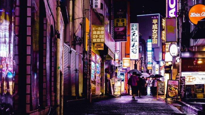 Salah satu sudut kota Tokyo