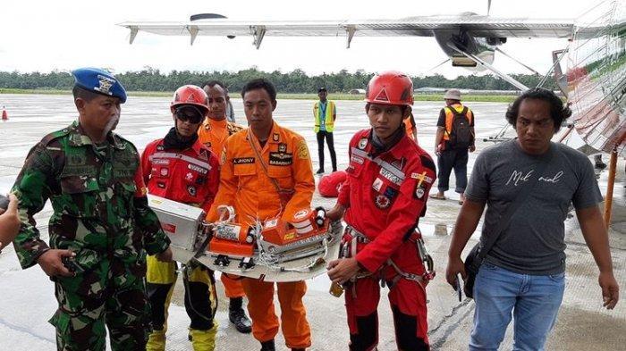 Kotak Hitam Pesawat yang Jatuh di Papua Ditemukan