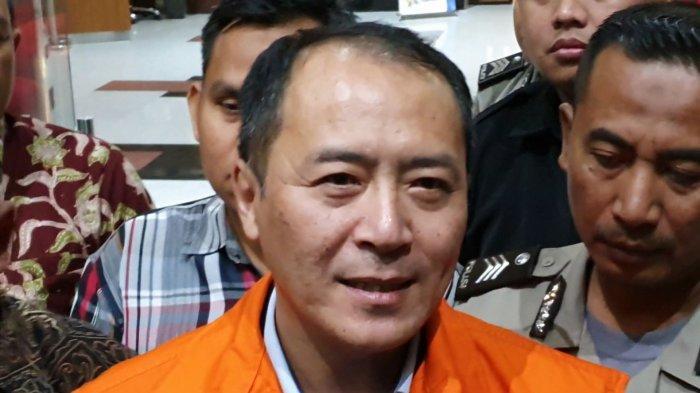 Mantan Presdir Lippo Cikarang Bartholomeus Toto ditahan KPK terkait kasus korupsi pembangunan Meikarta, Gedung Merah Putih KPK, Jakarta Selatan, Rabu (20/11/2019)