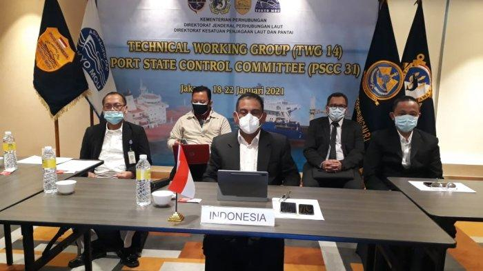 Aktif di Pergaulan Internasional, Kemenhub Hadiri Port State Control Committee Meeting Ke-31