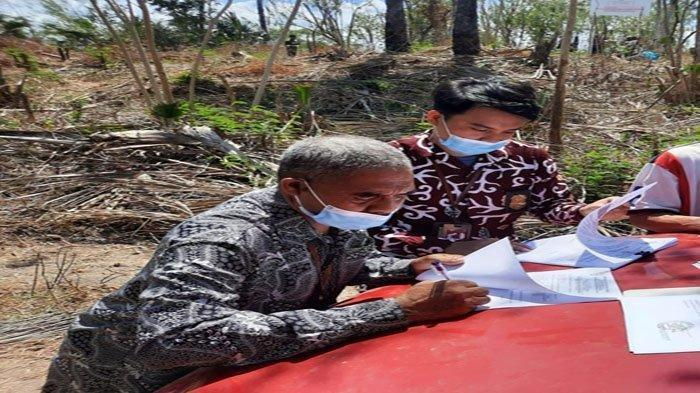 Tunggak Pajak Rp 2,4 Miliar, Tanah Seluas 2.048 m2 Disita KPP Pratama Kupang