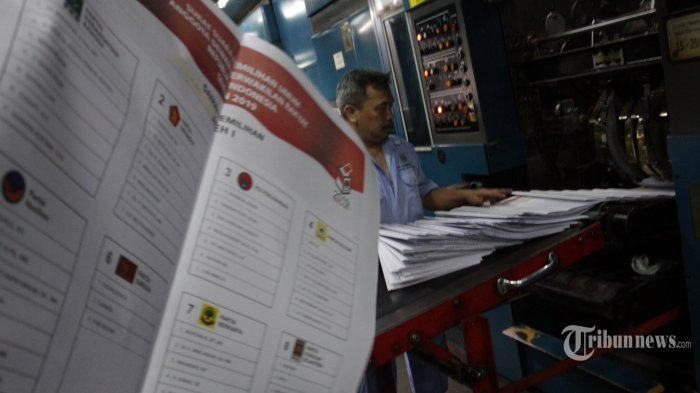 PT Gramedia Cetak Surat Suara Pemilu untuk Lima Provinsi