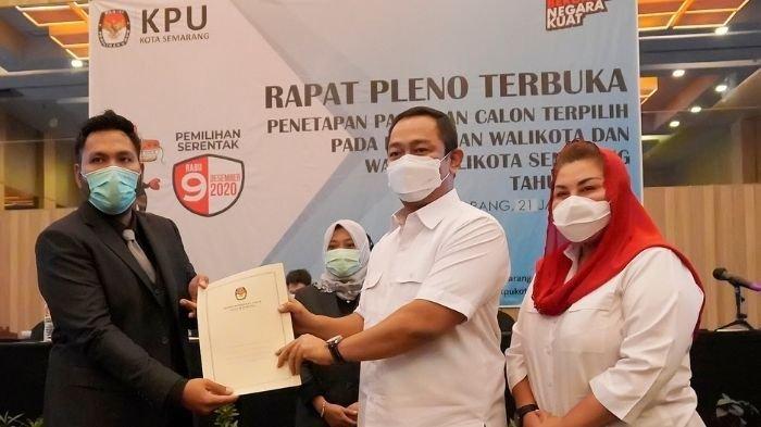 KPU Tetapkan Hendi - Ita Tetap Pimpin Kota Semarang Hingga 2024