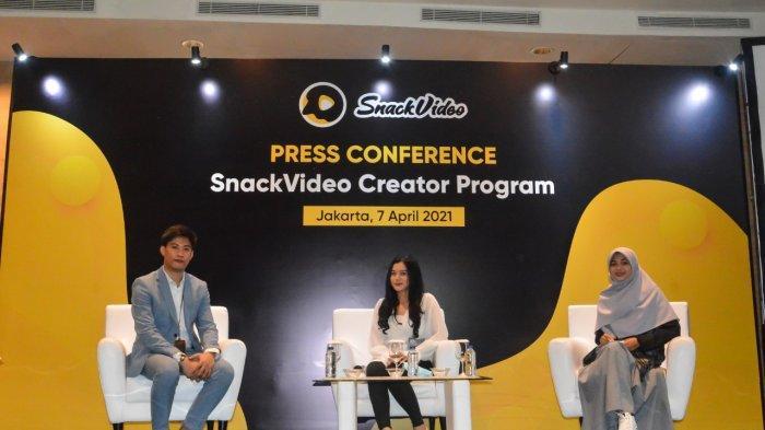 SnackVideo Inves Rp 500 M untuk Gairahkan Konten Lokal Lewat Creator Academy