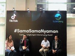 Ciptakan Lingkungan Internet Positif, TikTok Kampanyekan #SamaSamaNyaman