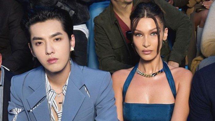 Kris Wu dan Bella Hadid
