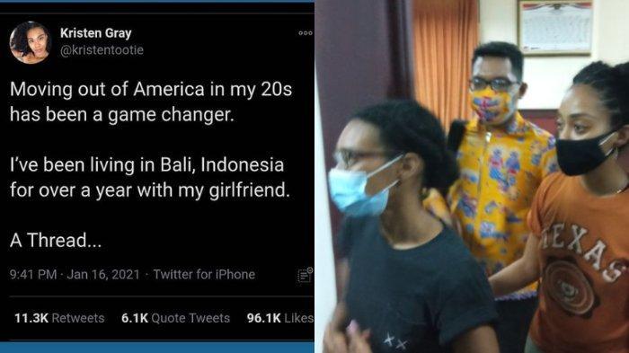 Kronologi kasus Kristen Gray hingga ia dan sang kekasih dideportasi dari Indonesia.