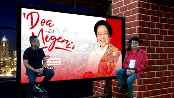 Doa untuk Negeri oleh Kader PDIP se-Indonesia di Hari Lahir Ke-74 Megawati